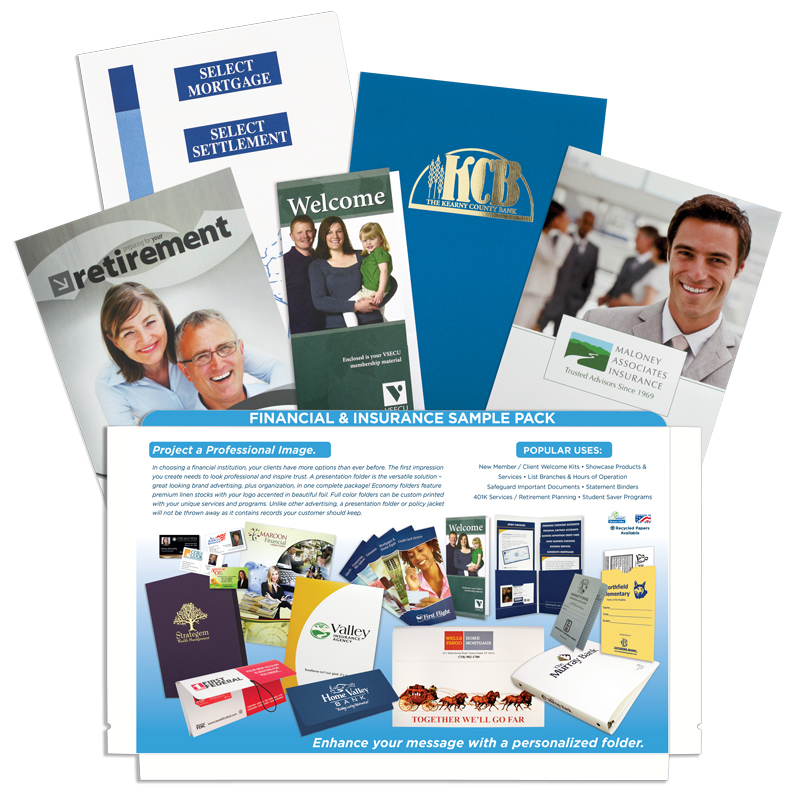 Financial & Insurance Sample Pack