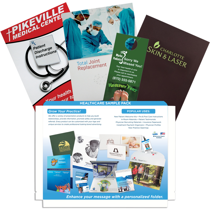 Healthcare Sample Pack